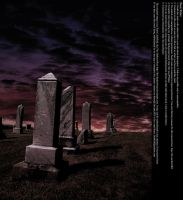 Graveyard Sunset 02 - Stock by Thy-Darkest-Hour