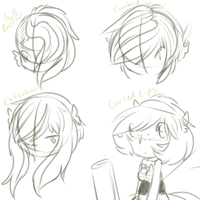 Versai Hair Progression by alinoravanity