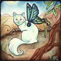 Fairy Cat Number 3 by starwoodarts