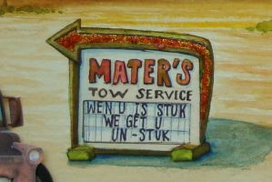 Mater's Sign: detail by heatherkparks