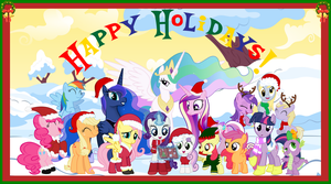 Merry Christmas 2012 by neodarkwing