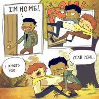 I'm Home by tamagolandnomoto