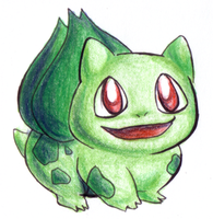 CP Bulbasaur by sushiekat