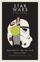 Star Wars a new hope minimalistic poster by lordsonny