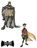 Batman and Robin colors by marcusmuller