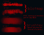 Paint Tool SAI - Blotmap  Brushtex set II by K-OG