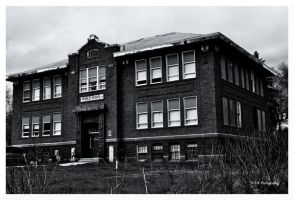 The Old Henry School Of 1914 by erbphotography