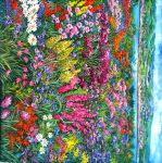 Field of flowers by Gilberto-Mattos
