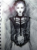Ball Point and SHarpie Value Scribble by FUNKYMONKEY1945