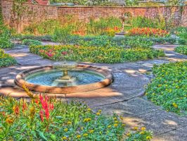Tryon Palace Gardens - HDR1 by recursiveLoop