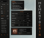 Memento Rainmeter 1.1 by 4nt1p0p