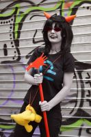 gallowsCalibrator - Homestuck Terezi Cosplay by Voldiesama