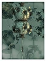 Tin Type Fractal by eccoarts