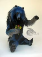 River Spirit Bear Room Guardian by AnyaBoz
