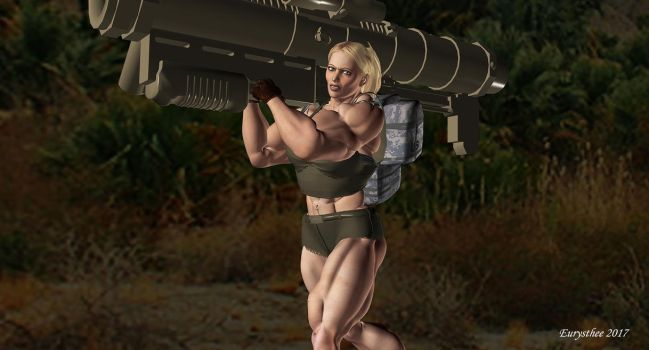 SF Sandy, rocket-launcher 15 by eurysthee