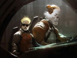 C and H by Robotpencil