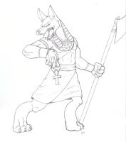 anubis by ducttapequeen