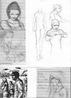 Sketch Compilation 1 by silentbackground