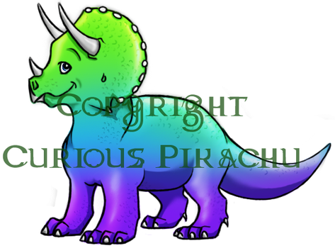 Triceratops by ArcyEC