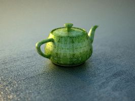 3cm Teapot - keeping vray fit by sentimentalfreak