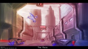 The Race- wallpaper by Idera13
