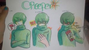 Creeper - Human ver by naruvane-san