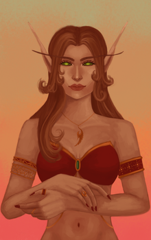 Another elf by TanishaHeaven