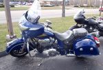 2015 Indian Chieftain in blue by Caveman1a