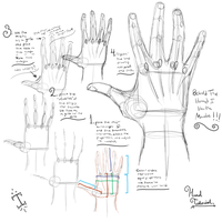 How to Draw Hands by Illunfar