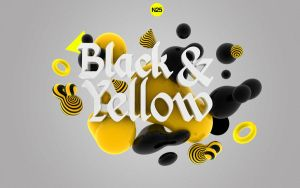 BlAcK And YeLLow by 123zion456