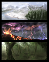 3 30 Minutes landscapes by Yveo