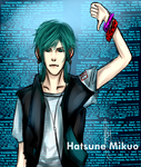 Hatsune Mikuo by flying-paper-planes