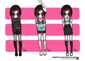 SHANA'S OUTFITS by BUNDIES