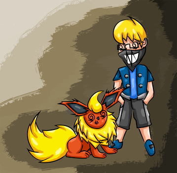 Tripl3M the Flareon Guy by Gecko-7