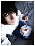 L Cake - Death Note by ewiku