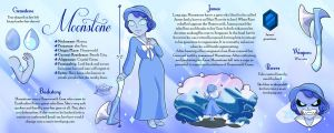 Commission - Moonstone Reference Sheet by Geminine-nyan