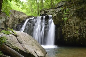 Waterfall 01 by empyreus-stock