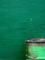 Barrel and Wall by icompton01