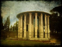The Temple of Hercules by psioniks
