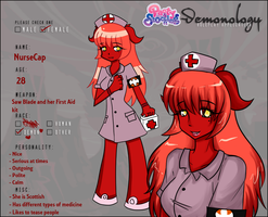 Demonology App - NurseCap by DrMuffinsandTea