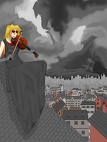 Violinist by All0Hallows0Eve