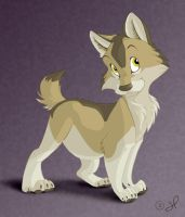 Character Design - Puppy by shayfifearts