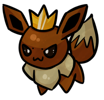 Battle Royale Champion Eevee by Riku-Eevee