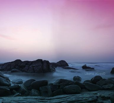 Sea in magenta by SynfulEve