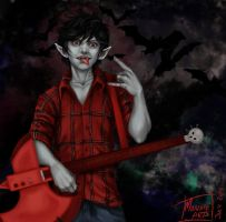 Marshall Lee by MonsieArts