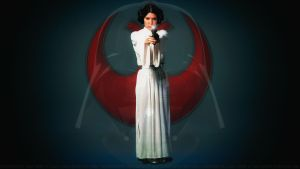 Carrie Fisher Princess Leia XL by Dave-Daring