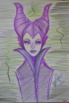 Maleficent by laveejay
