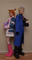 Wes and Rui from Pokemon Colosseum by Possumato