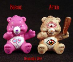 Killer Care Bear Cyclops comp by Undead-Art