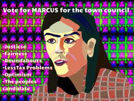 Marcus for town council by BernardFazling